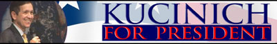Kucinich For President JPG