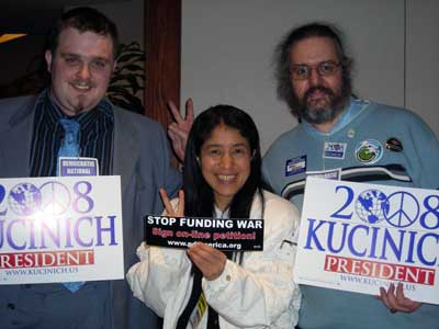 Kucinich Supporters  JPG