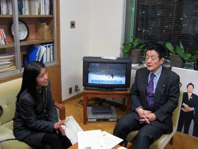 藤田幸久議員さんの JPG