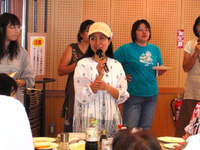 沖縄のローフード講演会のJPG