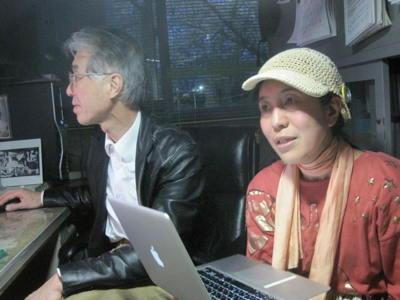 出裕章さんをインタビューのJPG