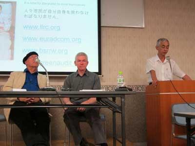 クリスバズビー博士講演会 ○ 千葉県松戸商工会館のJPG